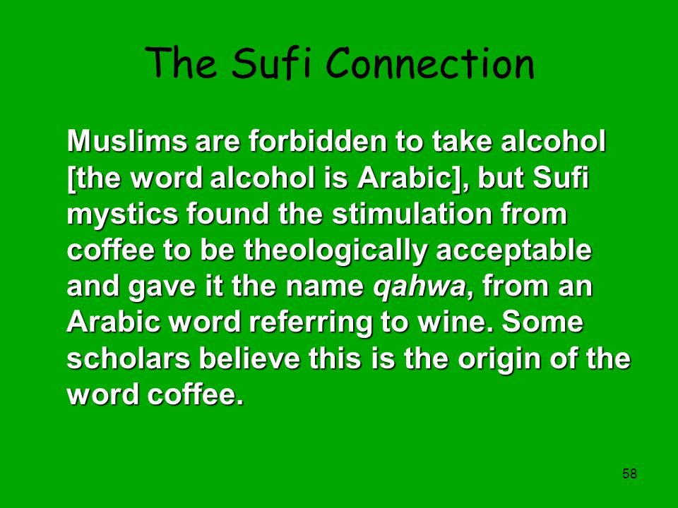 The Sufi Connection