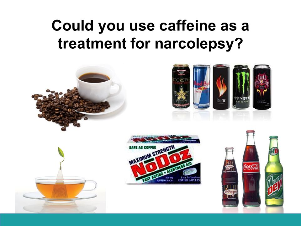 Could you use caffeine as a treatment for narcolepsy
