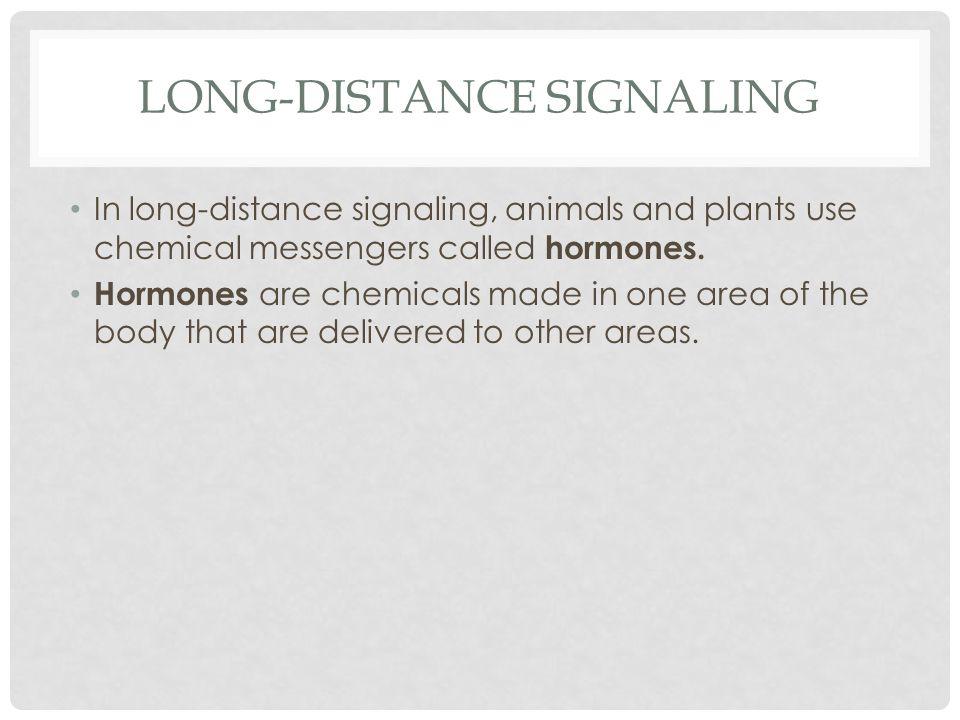 Long-distance signaling