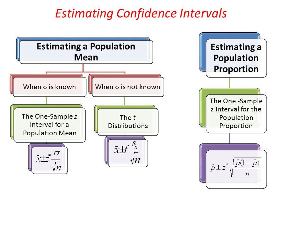 Estimating a Population Mean Estimating a Population Proportion