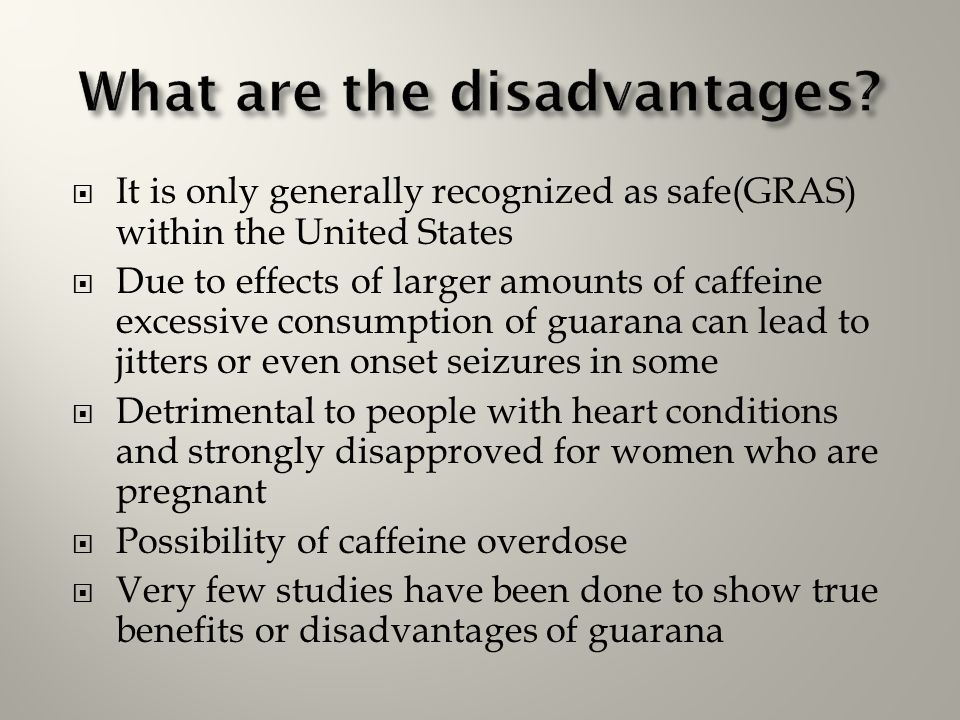 What are the disadvantages