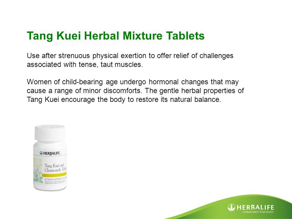 Tang Kuei Herbal Mixture Tablets