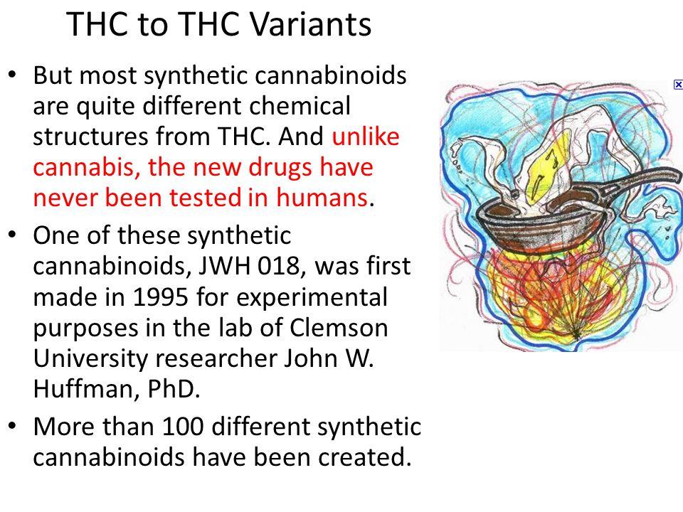 THC to THC Variants