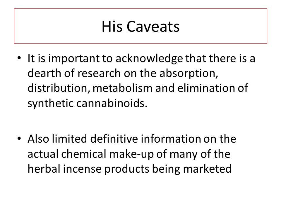 His Caveats