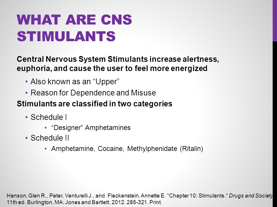 What are CNS Stimulants