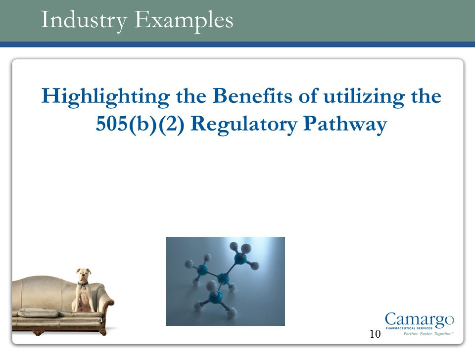 Industry Examples Highlighting the Benefits of utilizing the 505(b)(2) Regulatory Pathway