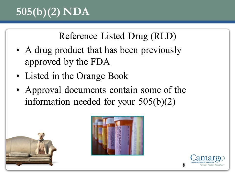 Reference Listed Drug (RLD)