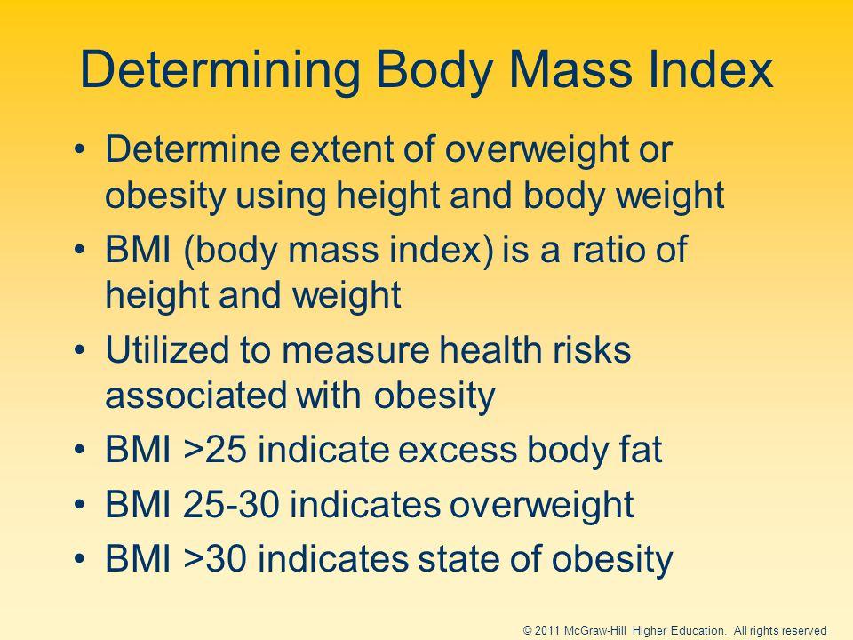 Determining Body Mass Index