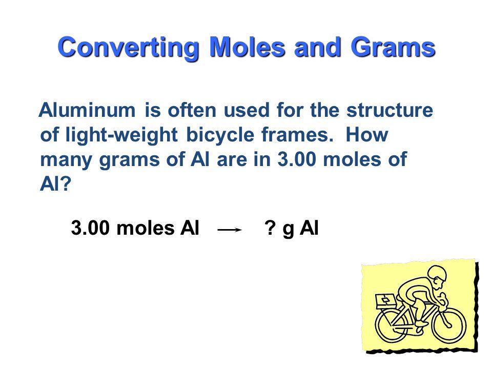 Converting Moles and Grams