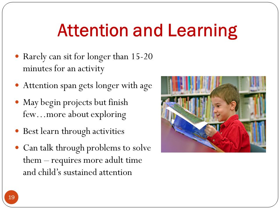 Attention and Learning