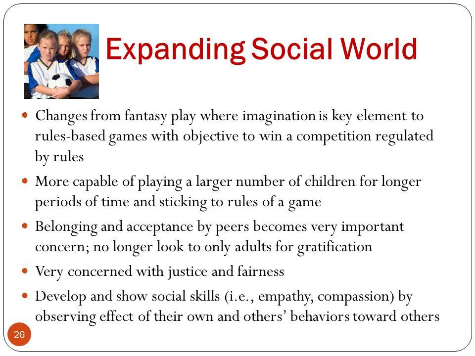 Expanding Social World