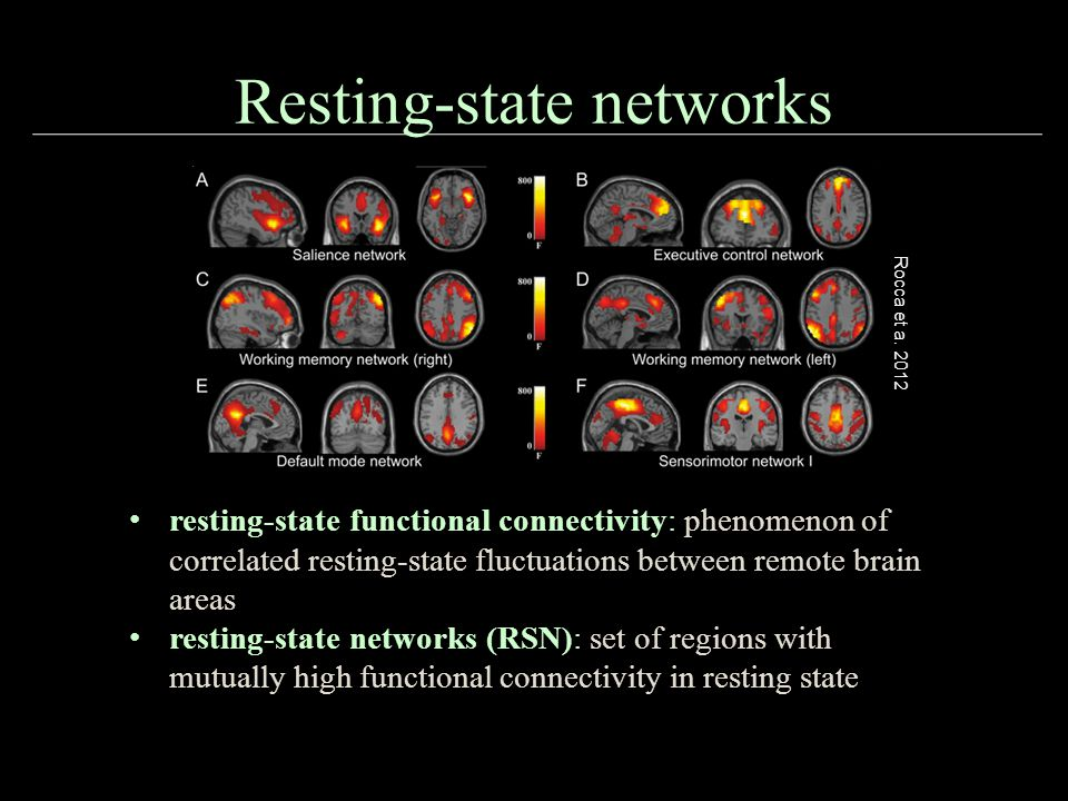 Resting-state networks