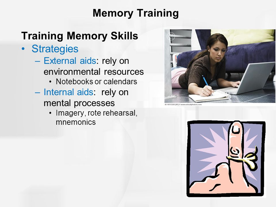 Training Memory Skills Strategies