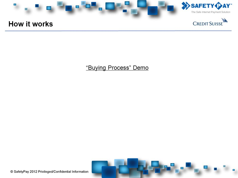 How it works Buying Process Demo 11