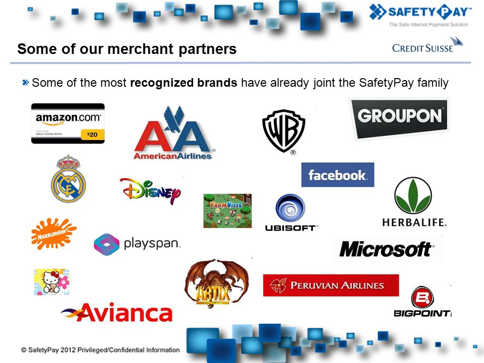 Some of our merchant partners