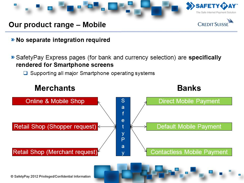Our product range – Mobile