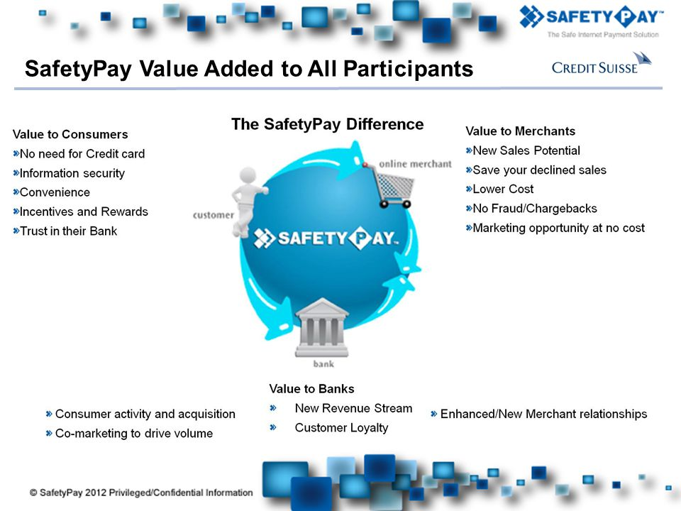 SafetyPay Value Added to All Participants