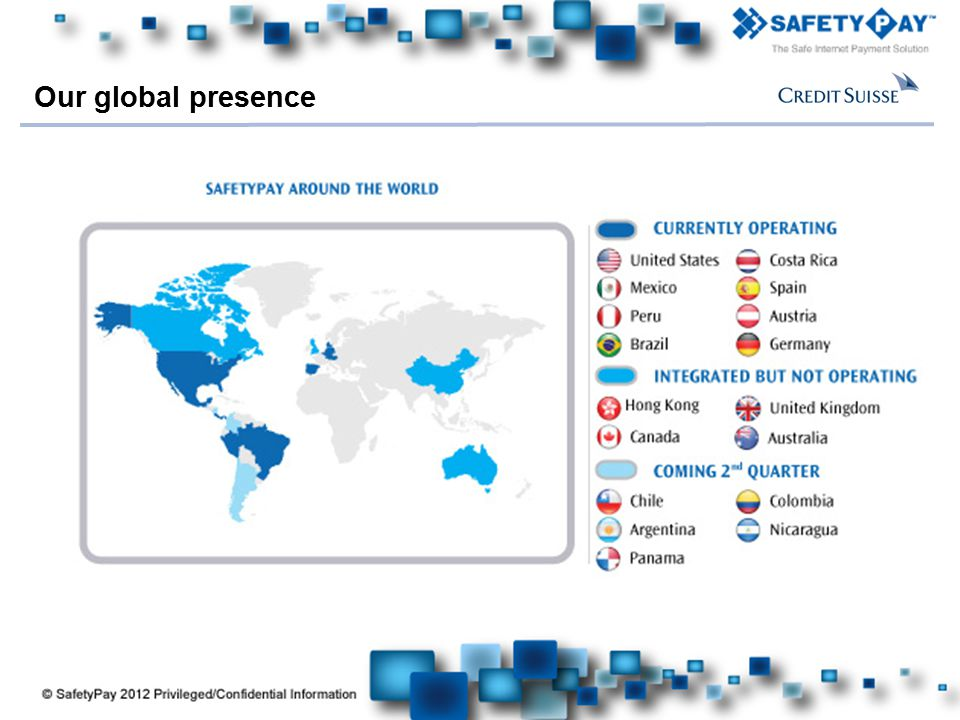 Our global presence 8