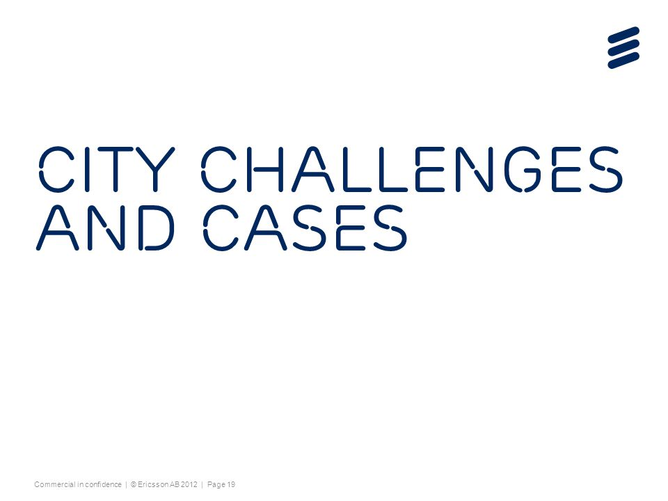 City challenges and cases