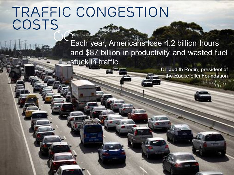 Traffic congestion COSTS