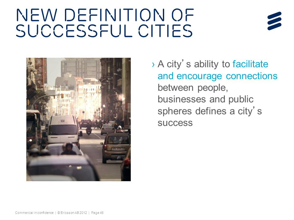 New Definition of successful Cities