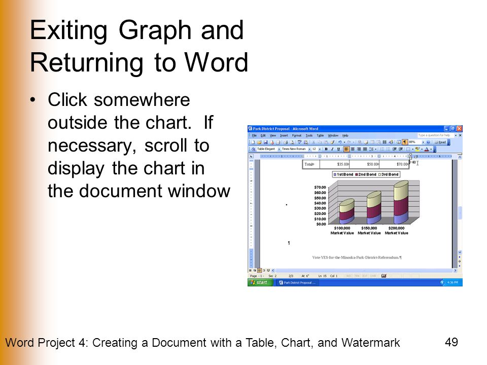 Exiting Graph and Returning to Word