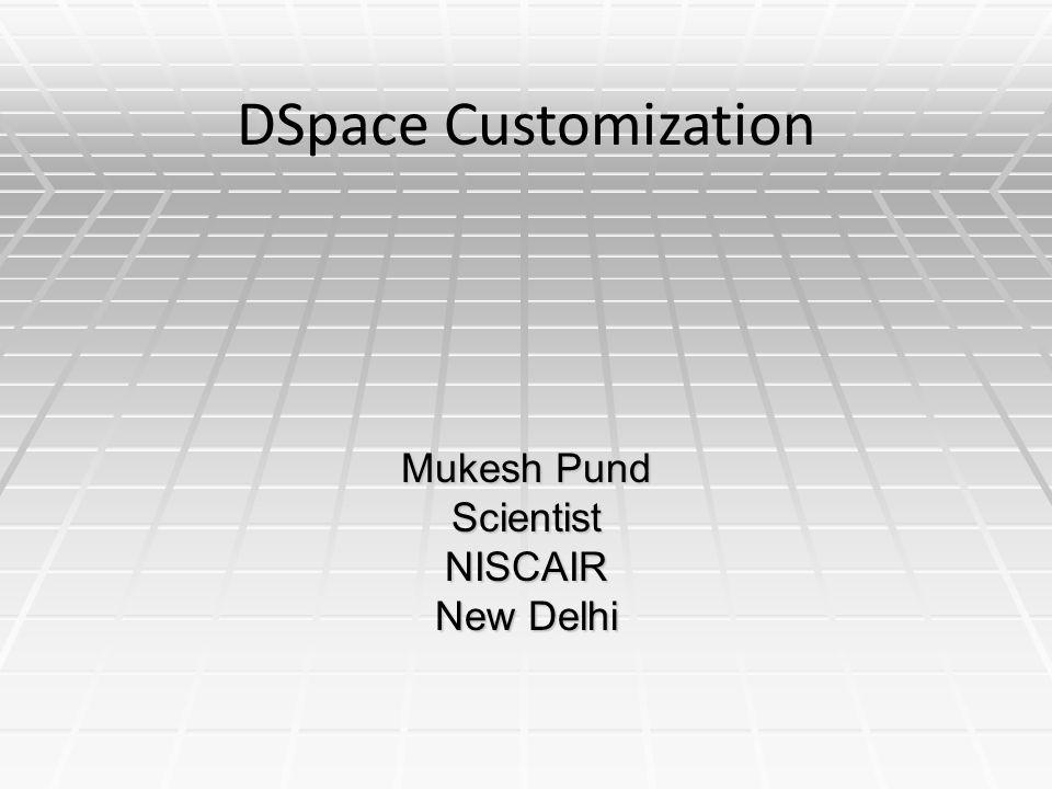 Mukesh Pund Scientist NISCAIR New Delhi