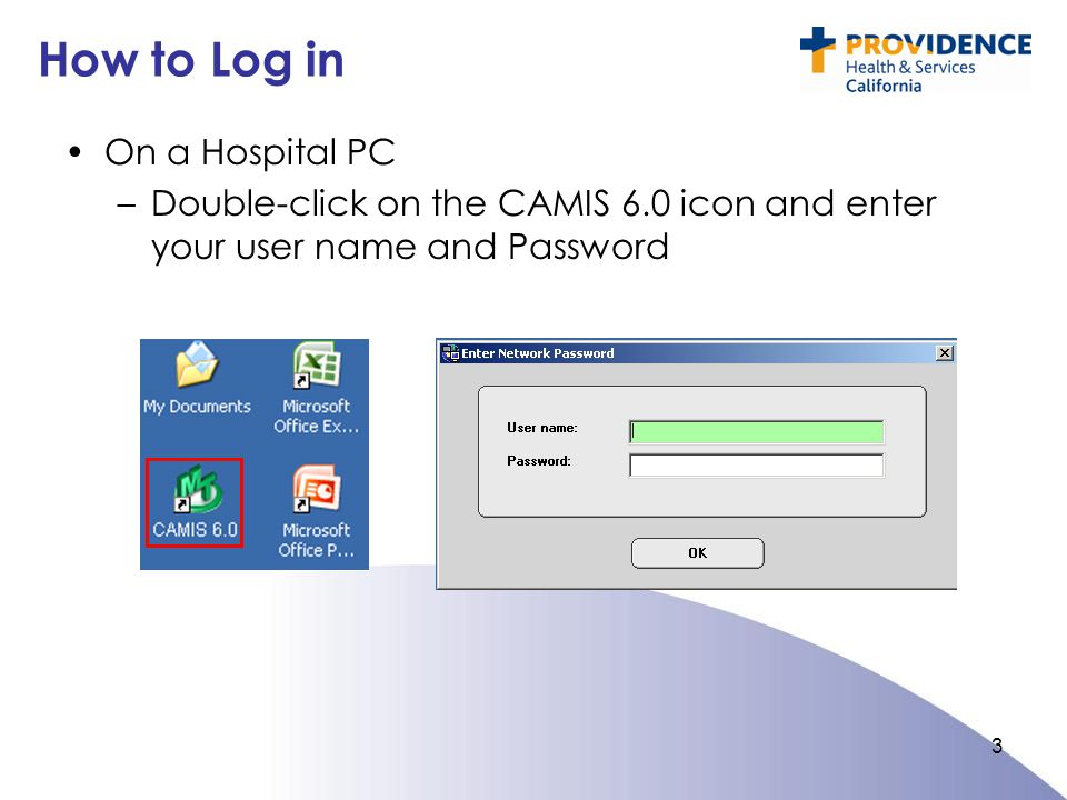 How to Log in On a Hospital PC