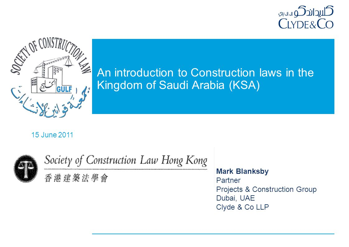 Today's talk Chinese contractors in KSA KSA infrastructure budget 2011