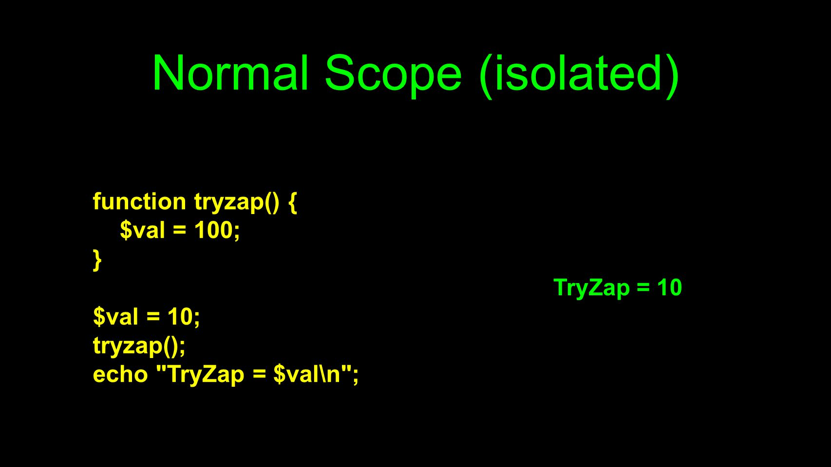 Normal Scope (isolated)
