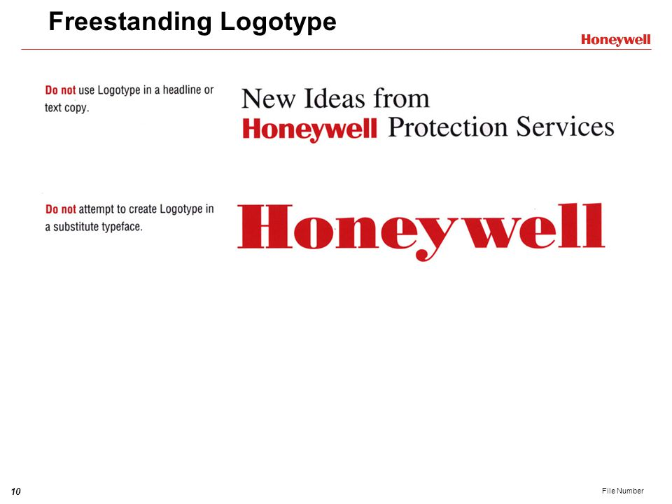Freestanding Logotype