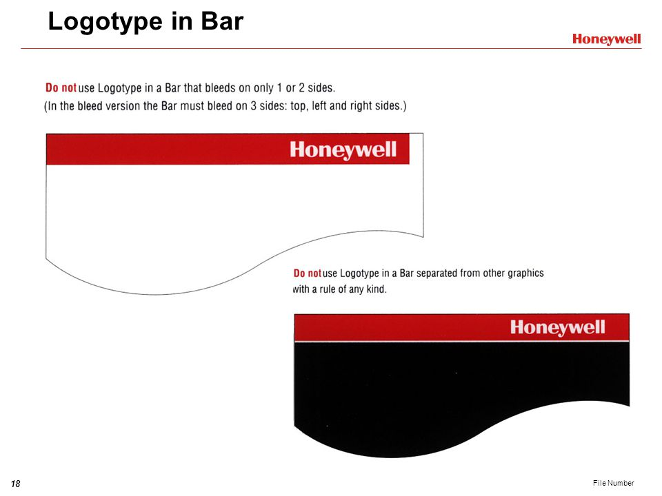 Logotype in Bar