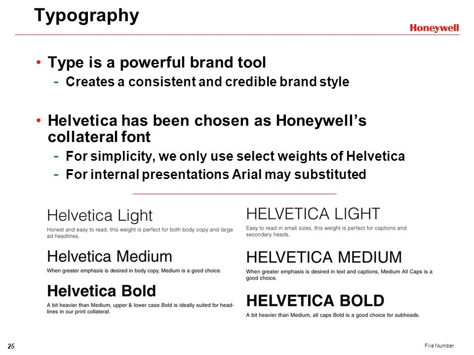 Typography Type is a powerful brand tool