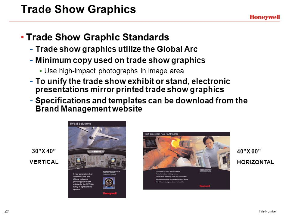 Trade Show Graphics Trade Show Graphic Standards