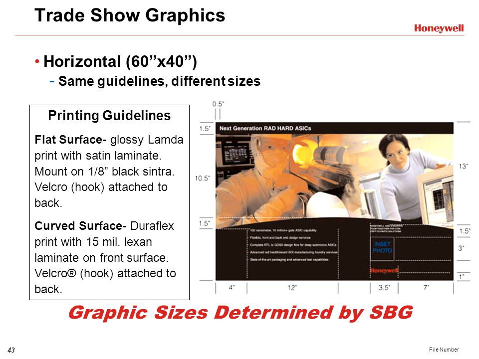 Graphic Sizes Determined by SBG