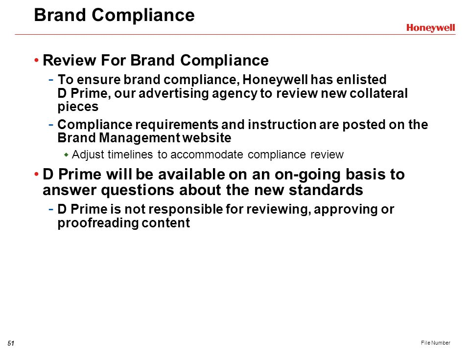 Brand Compliance Review For Brand Compliance