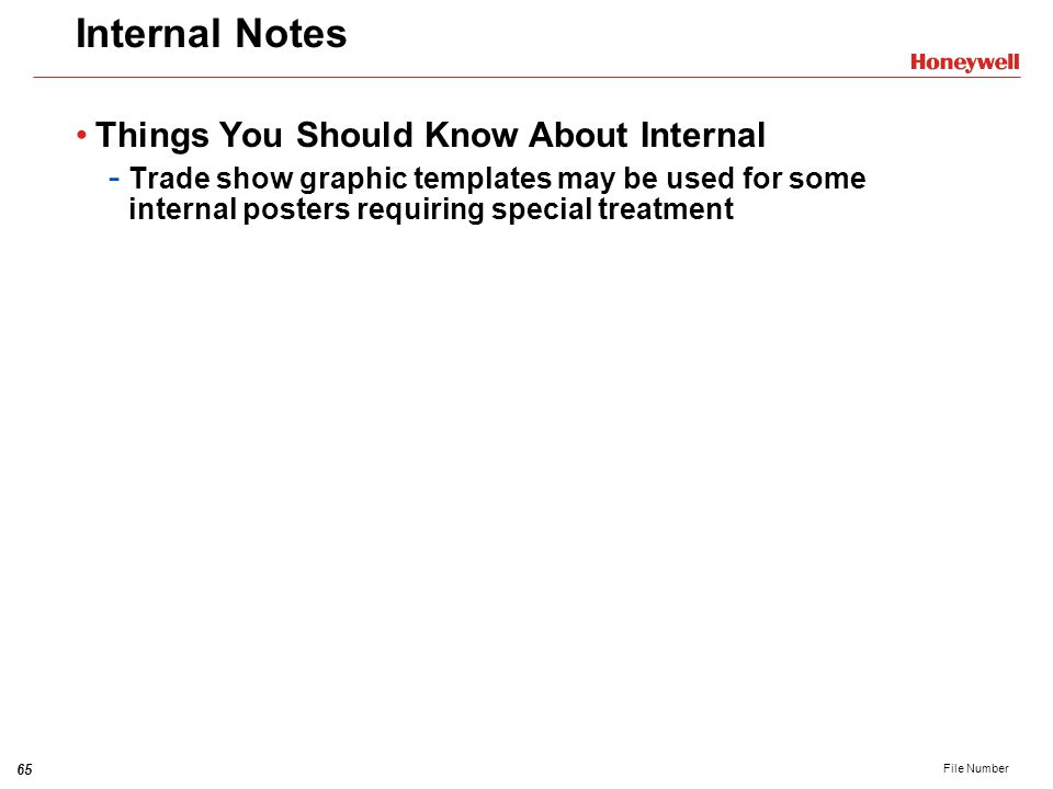 Internal Notes Things You Should Know About Internal