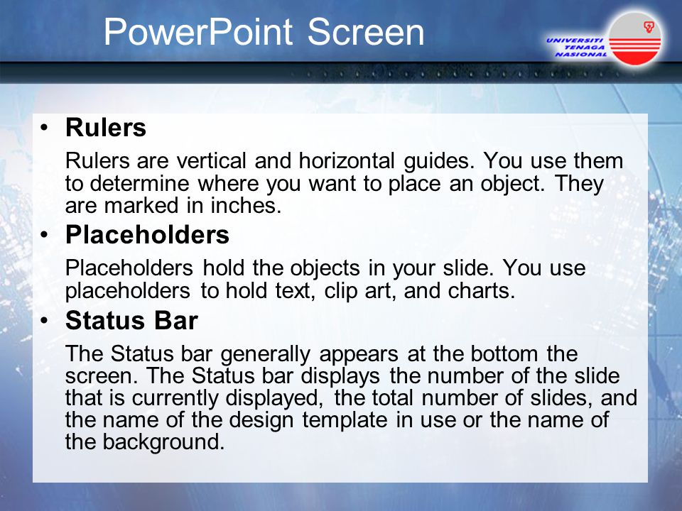 PowerPoint Screen Rulers