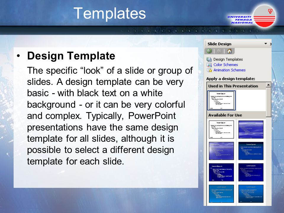 Templates Design Template