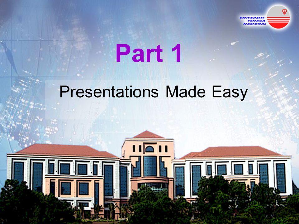 Presentations Made Easy
