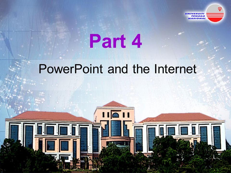 PowerPoint and the Internet