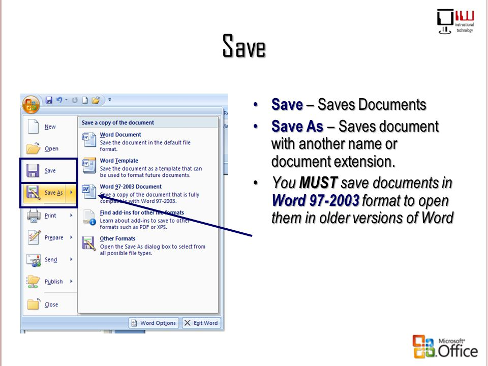 Save Save – Saves Documents
