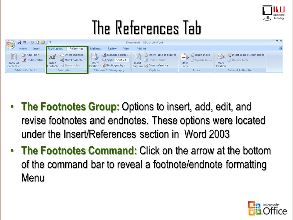 how to add a tab under citation style