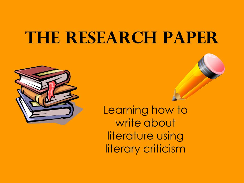 critics of research papers Steps in writing a research paper critical reading what is a research paper a research paper involves surveying a field of knowledge in order to find.