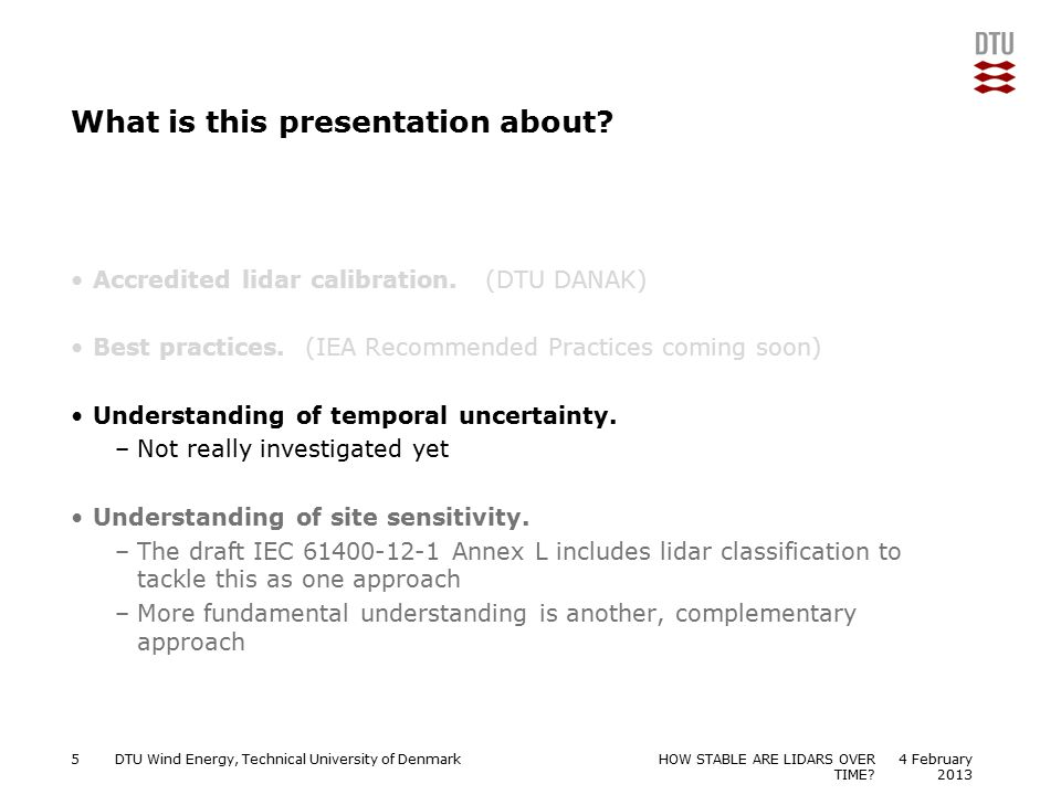 What is this presentation about