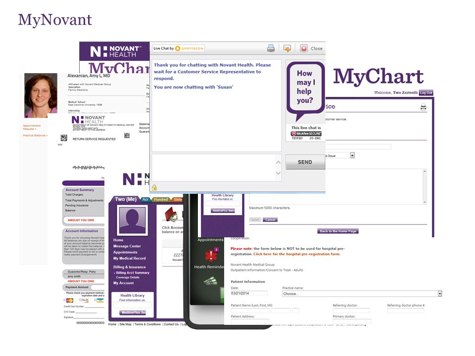 MyNovant New screenshot