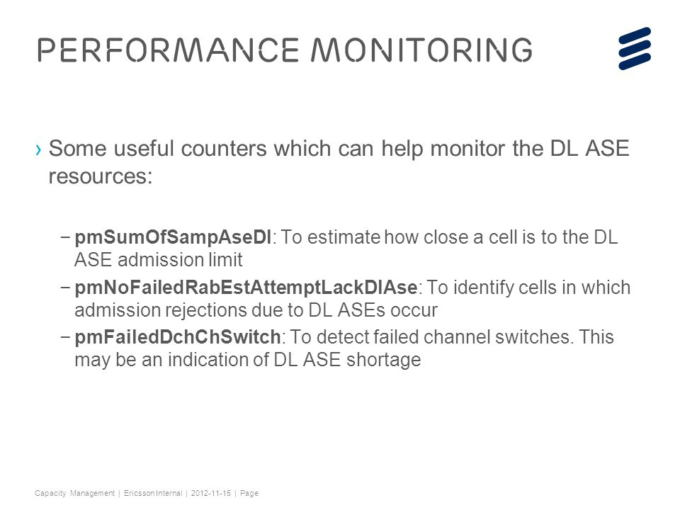 Performance Monitoring