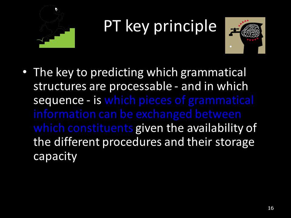 PT key principle