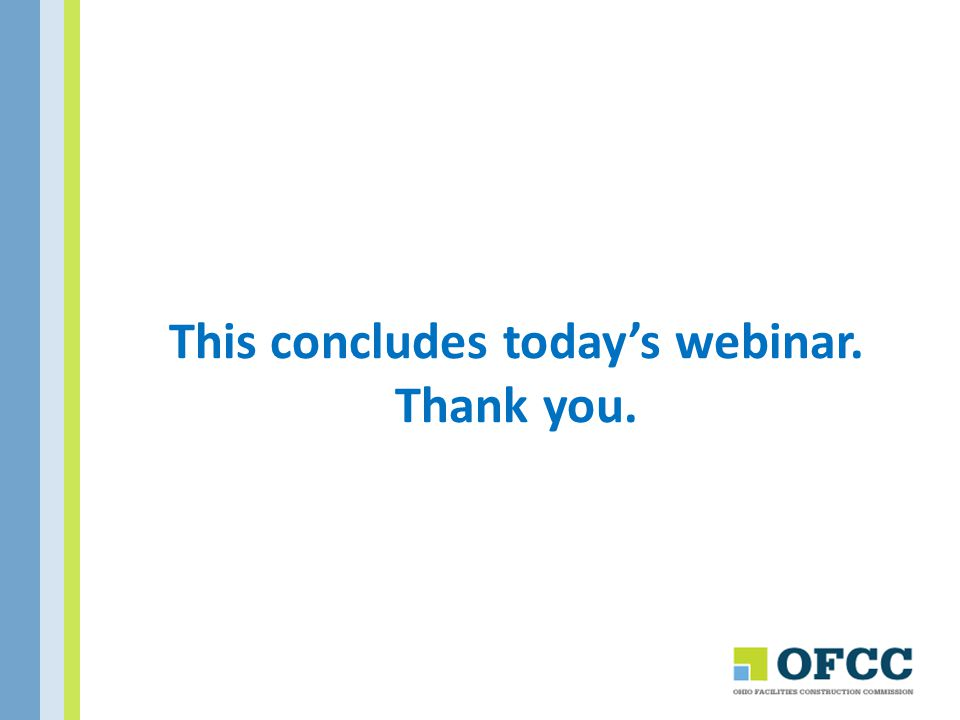 This concludes today's webinar. Thank you.