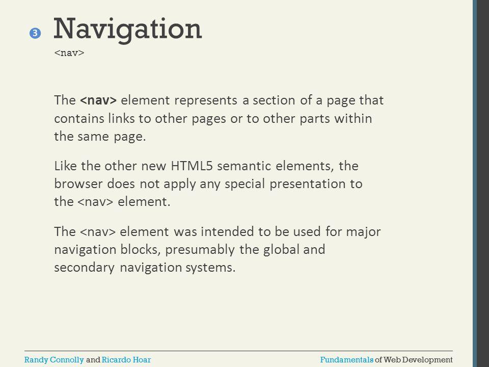 Navigation <nav>